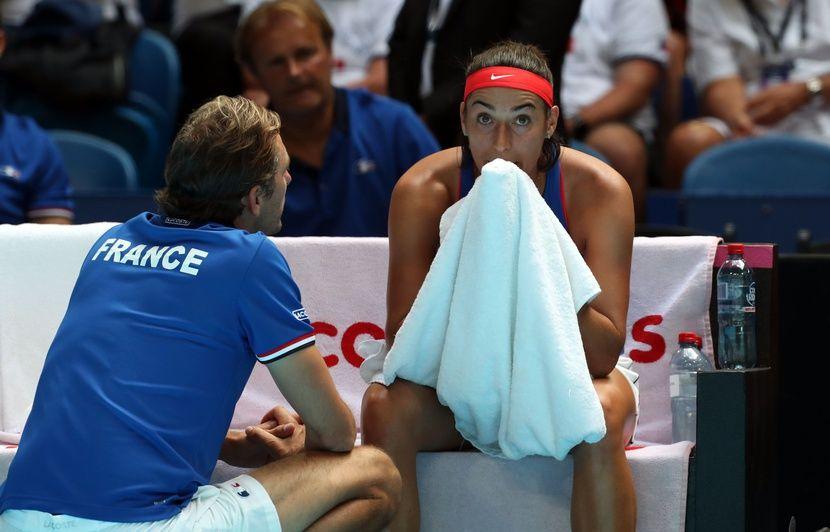 Fed Cup: L'Australie égalise face à la France en finale, Garcia sèchement battue