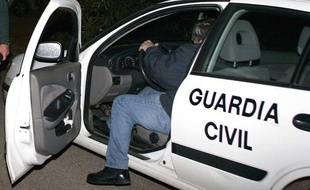 Illustration d'un véhicule de la police espagnole