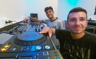 Alexandre Balducelli et Roland Revel-Pol-Simon ont fait leur rentrée à l'école DJ Network