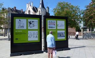 L'exposition est visible jusqu'au 23 mai sur la place Hoche.