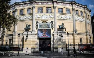 L'animation de la soirée a été tournée début février au Cirque d'Hiver à Paris