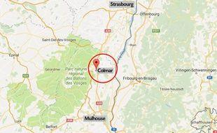 La ville de Colmar, dans le Haut-Rhin.