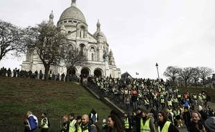 A Paris, pour ce sixième samedi consécutif de mobilisation des «gilets jaunes», un appel a été lancé en début de matinée pour aller sur la butte Montmartre.