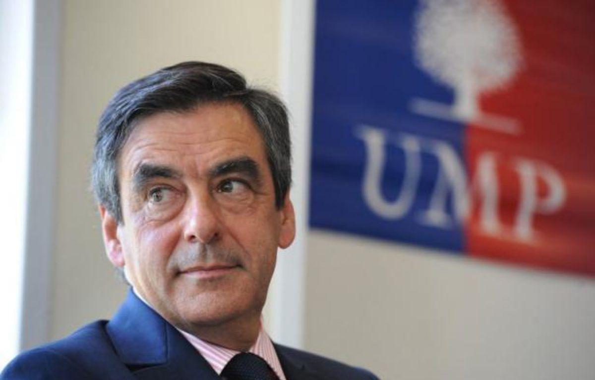 Quatre Français sur dix jugent que l'UMP a des dirigeants de qualité et 48% des sympathisants UMP souhaitent François Fillon comme dirigeant de l'UMP pour les prochaines années, contre 24% pour Jean-François Copé – Alain Jocard afp.com