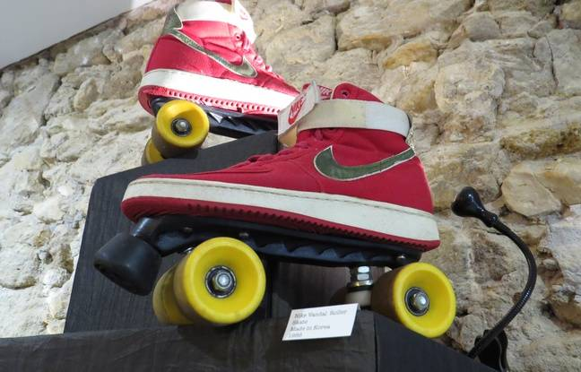 Nike Vandal Roller Skate, Made in Korea, 1986
