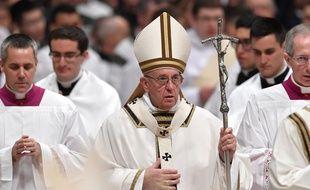 Le pape François a plaidé pour l'hospitalité des migrants lors de sa traditionnelle homélie de Noël, le 24 décembre 2017.