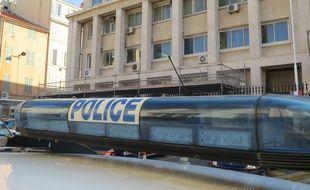 Marseille 21 OCTOBRE 2015 Illustration police