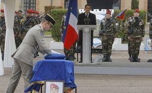 Le 22 mars 2012, l'hommage à Abel Chennouf à Montauban.