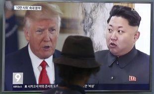 «Les solutions militaires sont maintenant complètement en place, et prêtes à l'emploi, si la Corée du Nord se comporte imprudemment», a déclaré le président américain.
