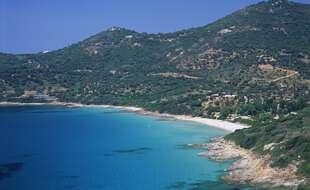 Le golfe de Sagone en Corse.