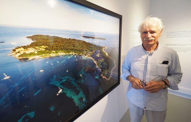 Yann Arthus-Bertrand a photographié les Îles de Lérins dans le cadre d'une exposition présentée tout l'été