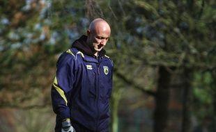 Fabien Barthez en 2007 au FCN.