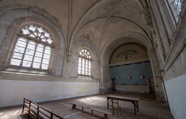 La chapelle du Martray à Nantes.