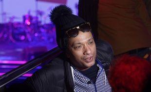Le rappeur Doc Gynéco en avril à Paris.