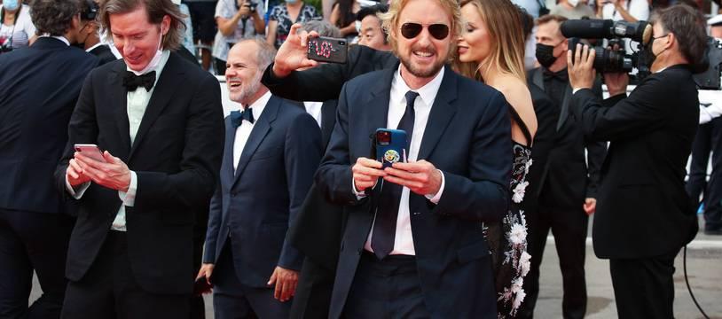 Le réalisateur Wes Anderson et l'acteur Owen Wilson