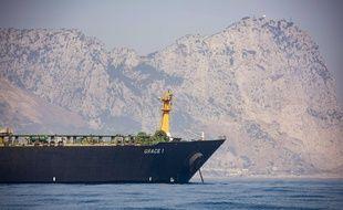 Le pétrolier Grace 1 à Gibraltar en août 2019