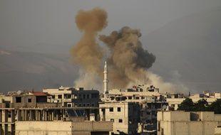L'offensivedans la Ghouta orientale par les forces du régimesyrien est entrée dimanche dans sa 4e semaine.