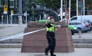 Une policière suédoise (image d'illustration).