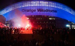 Le Vélodrome de Marseille, en février 2017.
