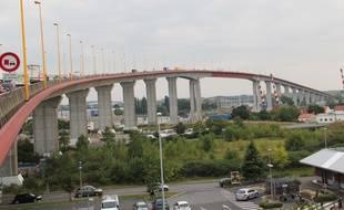 Le pont de Cheviré à Nantes.