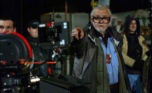 George A. Romero sur le tournage de Land of the Dead
