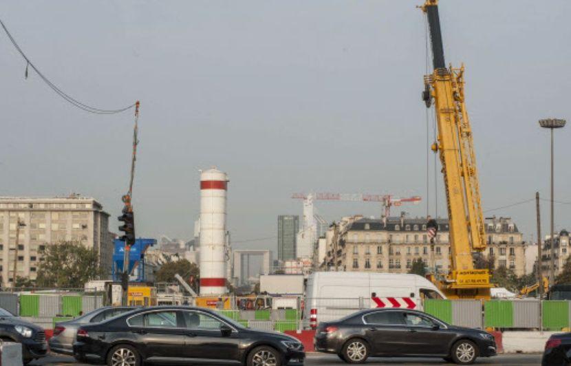 Pollution: Une plainte pour déversement de béton dans la Seine sur le chantier du RER E