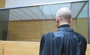 Le nouveau box sécurisé installé dans la salle d'audience n°4 du palais de Justice de Toulouse.