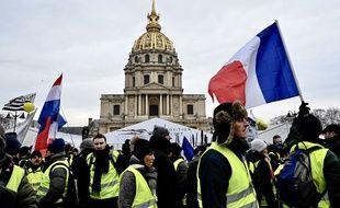 """L'acte 10 des """"gilets jaunes"""" a notamment lieu à Paris"""
