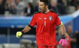 Gianluigi Buffon, ici lors de l'Euro 2016, a fait taire les sifflets d'Italie-France.