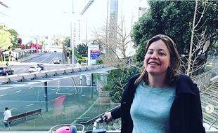 La ministre des Femmes Julie Anne Genter est allée en vélo à la maternité d'Auckland pour accoucher.