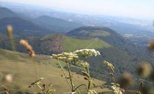 Les volcans d'Auvergne.