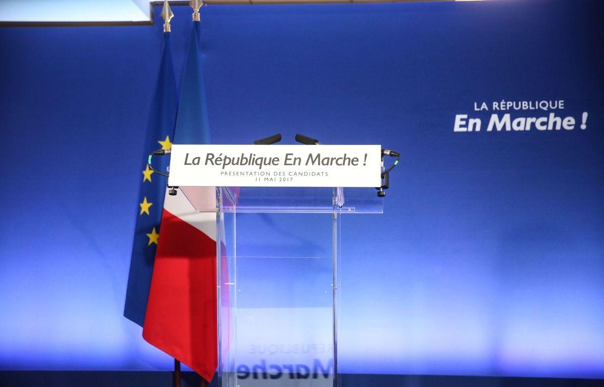 La République en marche (Illustration – HAMILTON-POOL/SIPA