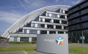 Le technopole Bouygues Telecom de Meudon.