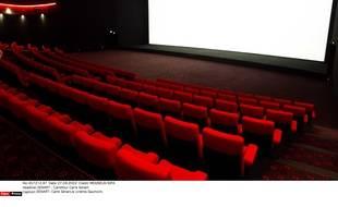 Une salle de cinéma vide (illustration)