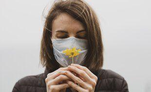 La perte olfactive est l'un des symptômes du Covid 19. Illustration.