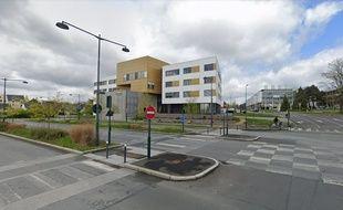 L'angle de l'avenue Leclerc, à Rennes, où un cycliste a été percuté par un bus le 21 octobre 2019.
