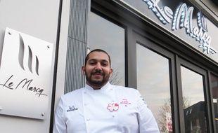 Abdelkader Belfatmi, cuisiner et gérant du restaurant Le Marcq, à Marcq-en-Barœul, dans le Nord