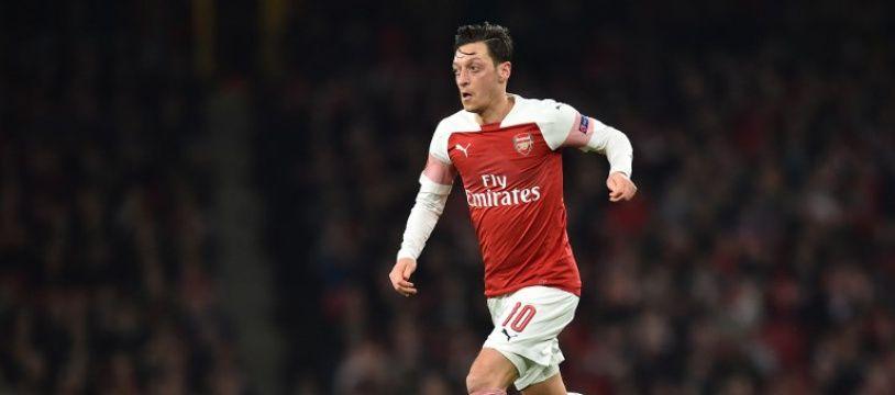 Mesut Ozil a enfin joué un match avec les Gunners.