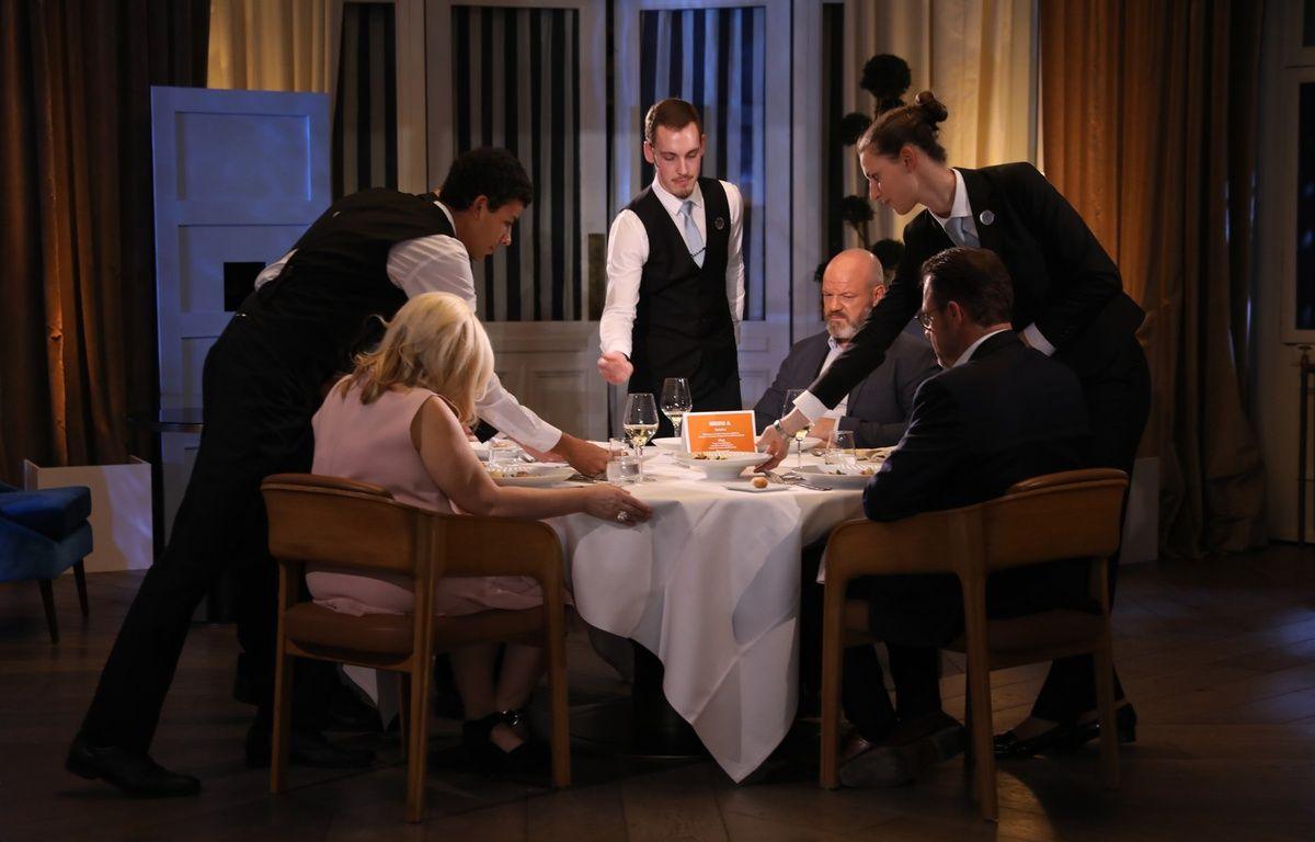 A la table des chefs... – Marie ETCHEGOYEN/M6