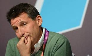 Le nouveau président de l'IAAF Sebastian Coe