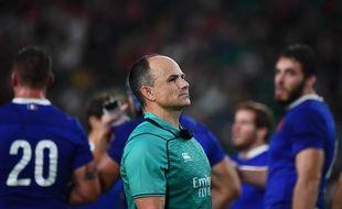 Jaco Peyper, l'arbitre sud-africain du quarts de finale entre la France et le pays de Galles, pourrait être sanctionné par World Rugby.