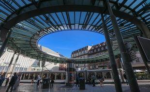 Station de tram de la place de l'Homme de Fer, à Strasbourg. (Illustration)