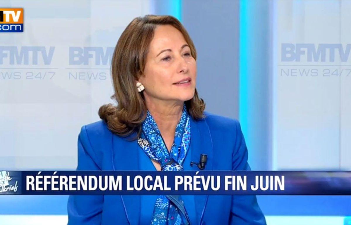 Ségolène Royal sur BFMTV le 17 mars 2016. – BFMTV