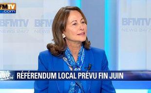 Ségolène Royal sur BFMTV le 17 mars 2016.