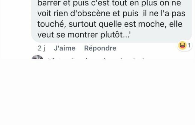Commentaire reçu par Safiétou après la publication de sa vidéo (3)