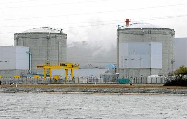 La centrale de Fessenheim est en service depuis 1977.