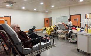 Le service des urgences est sous tension depuis le 21 décembre
