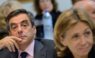 François Fillon et Valérie Pécresse.