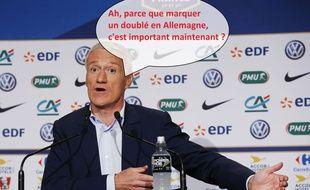 Didier Deschamps n'a pas sélectionné Alexandre Lacazette pour la Coupe du monde.