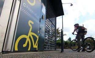 Le parking vélo sécurisé de La Poterie, à Rennes, va bientôt être enlevé en raison de l'extension du parc relais.